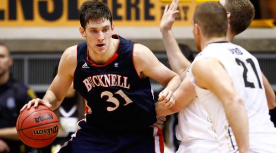 Mike Muscala takes home RTC Patriot League POY honors after another sterling campaign for the Bison. (Getty)