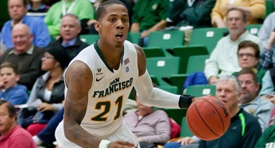De'End Parker and USF had a tough time in Hawaii (ISI Photos)