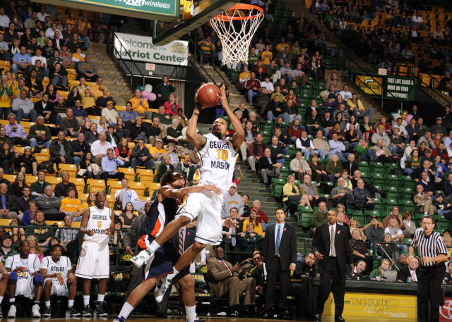 George Mason\'s Sherrod Wright Lives For Big Moments.
