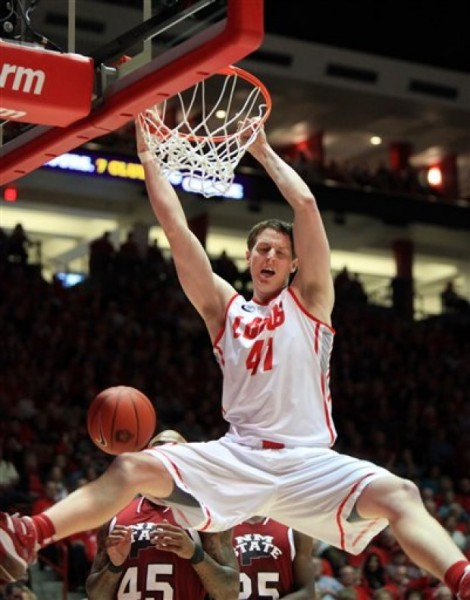 Cameron Bairstow Has Been On Fire Out Of The Gate For the Lobos (Eric Draper, AP Photo)