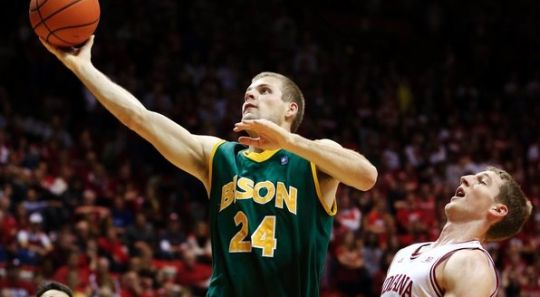 Taylor Braun and North Dakota State comes in at #2 in our latest power rankings (AP)