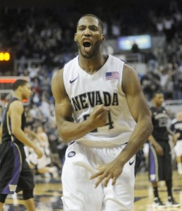 Deonte Burton Has Hit Three Late Game-Winning Shots For Nevada, Keeping The Struggling Wolf Pack From A Rough Start (Julie Dawes, AP Photo)