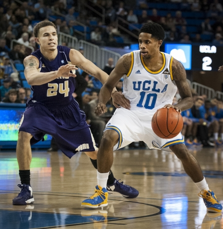 Ben Howland Called Larry Drew II's Performance Tuesday Night The Best Of the Season (Alexa Smahl, Daily Bruin)