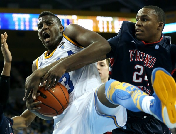 Jordan Adams Averaged 15.5 PPG Last Week In UCLA's Sweep Of The Bay Area Schools. (credit: Stephen Dunn)