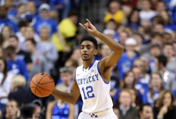 Considering he was facing the most relentless ball-pressuring backcourt in the country, Harrow managed the big stage with unexpected poise (photo credit: Getty Images).