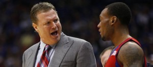 Bill Self will have his hands full with Colorado Saturday