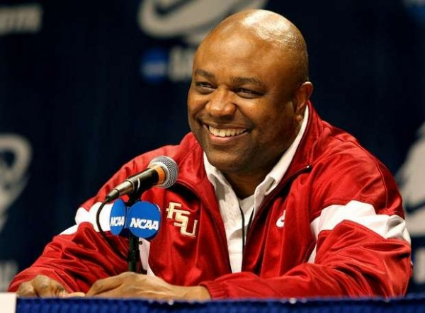 I'm betting we'll see more smiles from Leonard Hamilton this year (Photo Credit: Glenn Beil / Democrat).