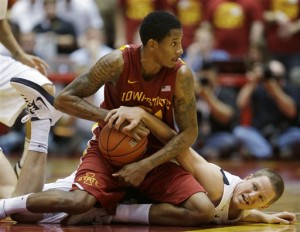Will Clyburn and Iowa State are in the thick of the Big 12 race (AP Photo/Charlie Neibergall)