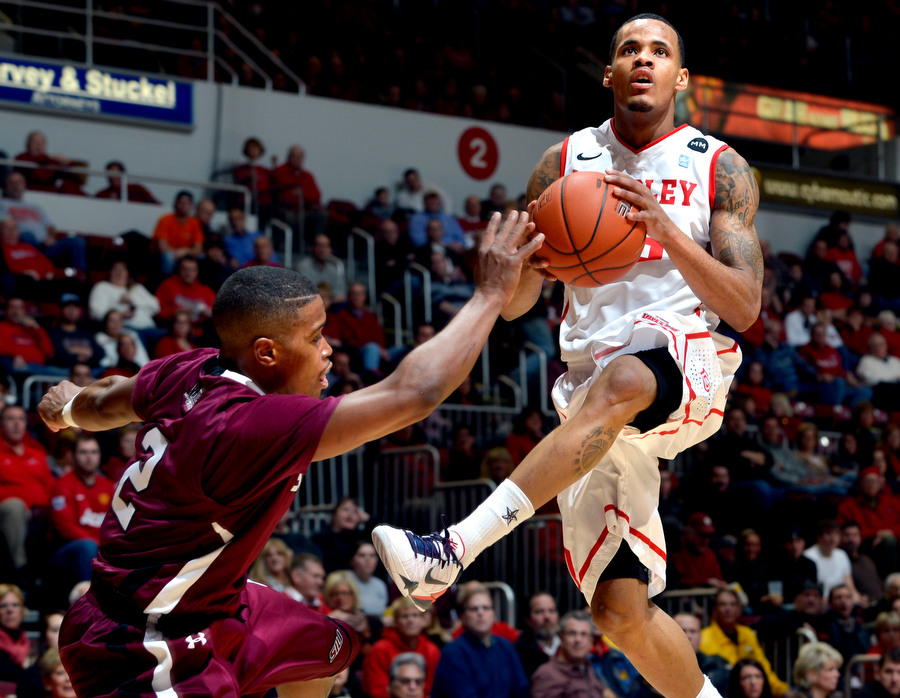 Walt Lemon, Jr. Has Helped Lead Bradley Back To Relevance. (Ron Johnson/Journal Star)