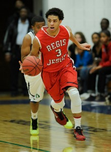 Josh Perkins is averaging 25.3 points, 7.7 rebounds and 5.8 assists per game for Regis Jesuit (Colorado)