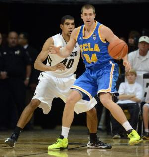 Travis Wear was key in UCLA's win over Colorado this week and continues to play well for the Bruins.