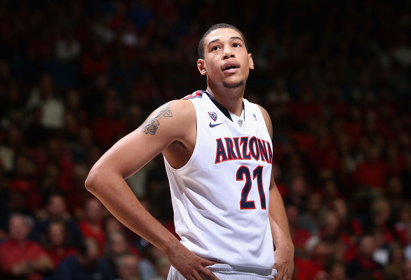 The loss of Brandon Ashley could really hurt Arizona's title chances. (Christian Petersen, Getty Images North America)