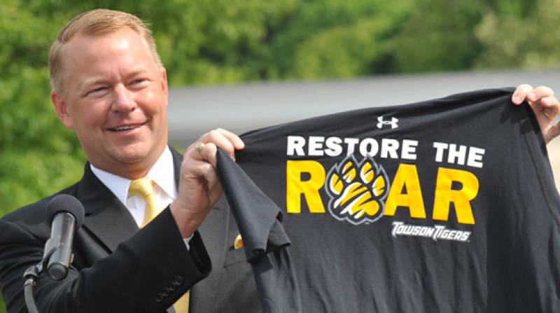 Towson AD Mike Waddell Has Stuck With Pat Skerry, A Move That Has Paid Dividends With The Tigers Making Noise.