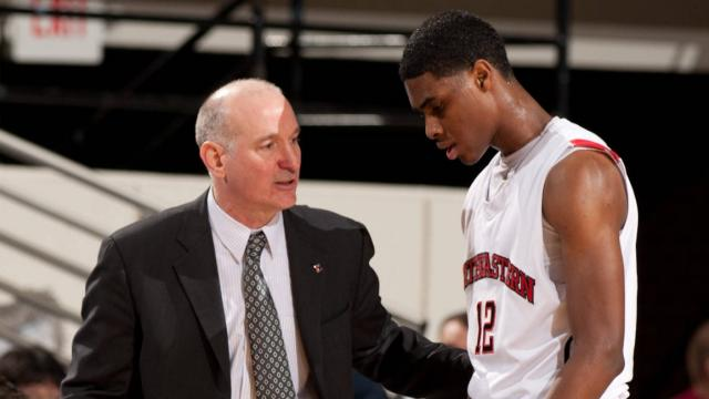 Bill Coen and Quincy Ford Keep Cool At Northeastern.