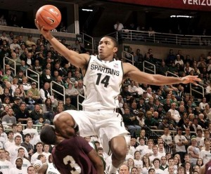 Gary Harris has shown flashes of brilliance so far but is capable of more for Michigan State (Detroit News)