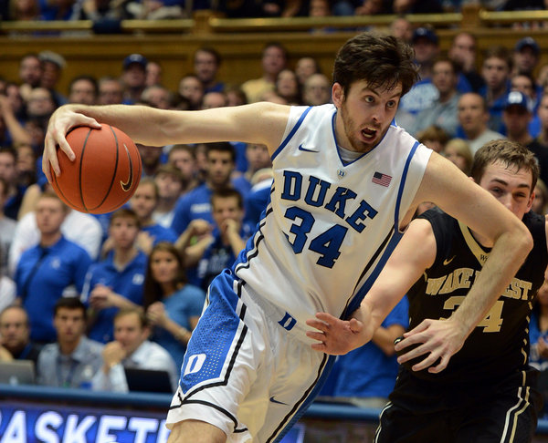 Ryan Kelly's absence is hurting Duke defensively (Chuck Liddy/Raleigh News & Observer/MCT)