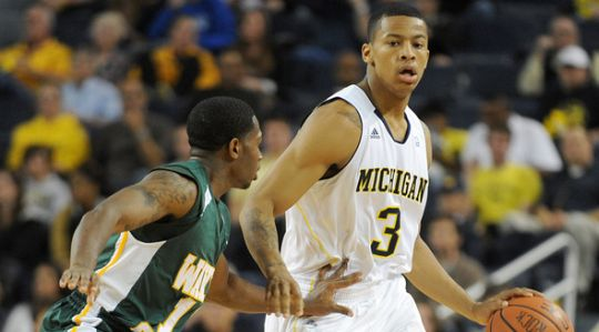 It is a bad sign for the Michigan offense when Trey Burke shoots more than 20 times in a game. (annarbor.com)