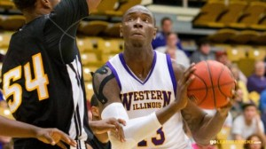 The play of big man Terell Parks will be key in Western Illinois's quest for a conference crown (Western Illinois athletics)