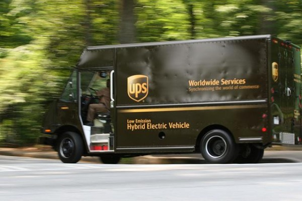 Sometimes The UPS Truck Gets Lost