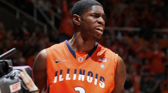 Brandon Paul and the Fighting Illini have fallen on hard times. (Joe Robbins/Getty)