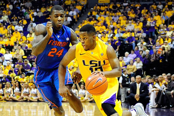 Casey Prather went down with an ankle injury against LSU on Saturday. (Photo by Stacy Revere/Getty Images)