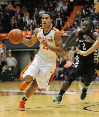 It Was Challe Barton, Not Ahmad Starks, Running The Point Late For OSU on Saturday (Amanda Cowan, Corvallis Gazette-Times)