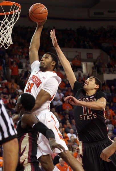 Devin Booker is under-utilized by Clemson. (Photo Credit: IPTAY Media)