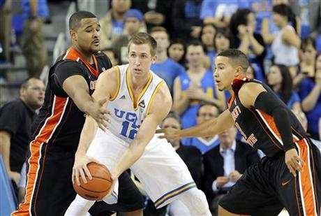 David Wear's Minutes Have Decreased, But He's Still Producing For UCLA (AP Photo)