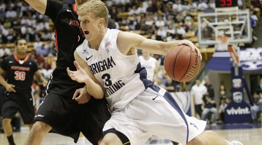Tyler Haws is having an outstanding season (AP)