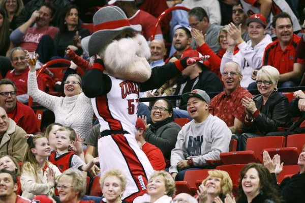 Hey Reb Is A Significant Upgrade Over UNLV's Original Mascot (Sam Morris/Las Vegas Sun)