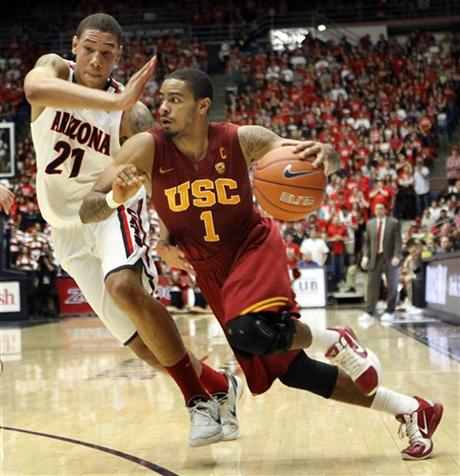 After His Best Game Of The Year, Jio Fontan And His USC Trojans Crashed And Burned Against Arizona (Wily Low, AP Photo)