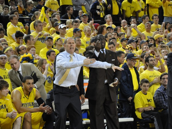 Never underestimate John Beilein's ability to design an extremely potent offense.