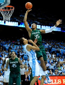 Kenny Kadji is one of the most versatile players in the ACC. (Photo: Grant Halverson/Getty Images)