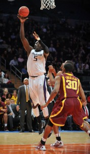 Aziz N'Diaye Has Already Posted As Many Double Figure Scoring Nights As All Of Last Season (Jason Szenes, Getty Images)