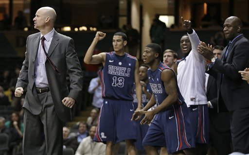 Ole Miss Celebrates Its Comeback Against Vandy
