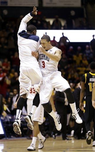 In the rugged A-10, road losses are par for the course, even for teams as strong as VCU (Photo credit:  AP Photo).