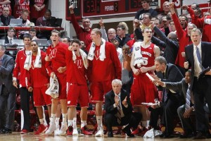 Arguably the best team in the Big Ten couldn't deal with their stylistic opposite, Wisconsin (Photo credit: Getty Images).