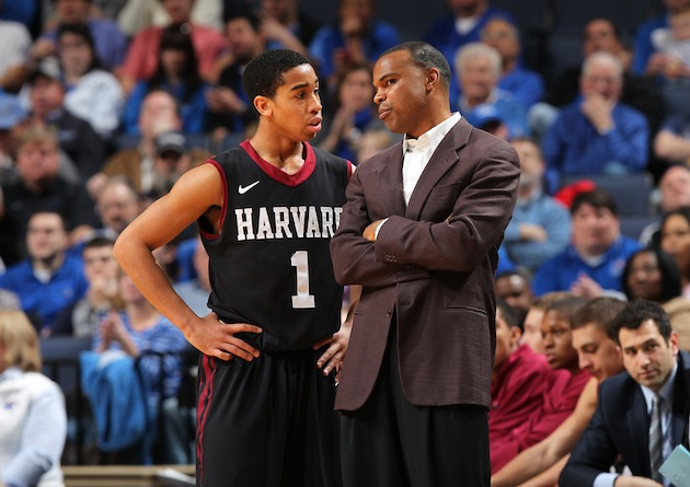 Can Freshman Phenom Siyani Chambers And Harvard Head Coach Tommy Amaker Turn The Crimson Into Tournament Darlings? (Joe Murphy/Getty)