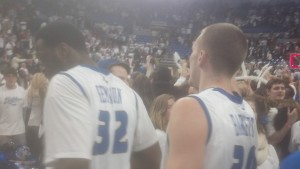 SLU Players Got to Celebrate Too
