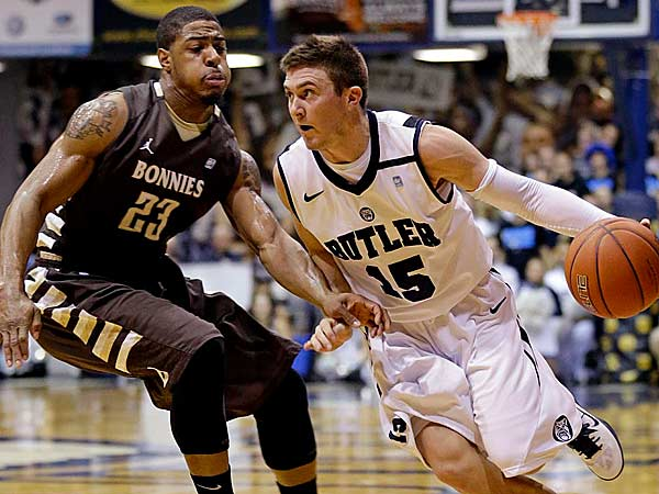 Rotnei Clarke Hasn't Missed A Beat Since Returning For Butler.