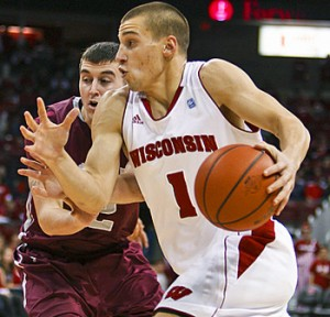 Ben Brust is one of the best defensive guards in the Big Ten.