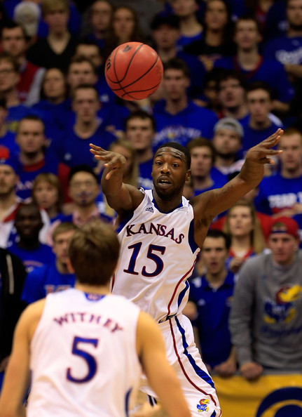 A Productive Elijah Johnson May Be The Biggest Key To Another Kansas Final Four. (Getty Images)