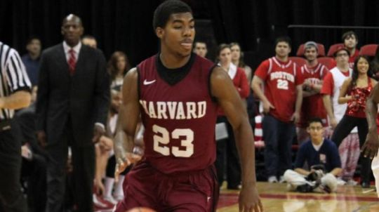 Wesley Saunders and Harvard hosts a huge contest against Princeton later this week. (Harvard athletics)
