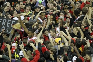 It's Bedlam in College Park as the Terps Make the NIT Final Four (Yahoo Sports)