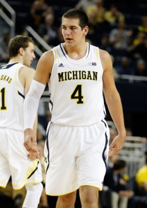 Mitch McGary will need to pick up easy baskets at the charity stripe to ease the pressure off the wings this season.