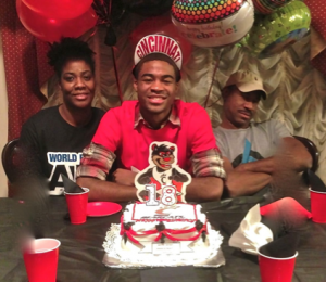 Jermaine Lawrence celebrated his 17th birthday by committing to the Cincinnati Bearcats