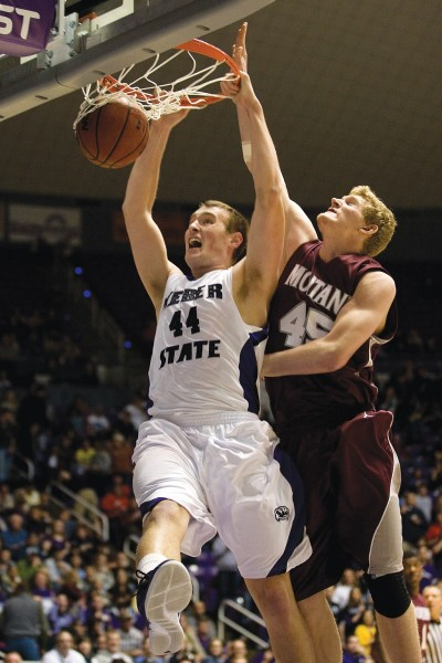 Will This Be The Year That Kyle Tresnak And Weber State Get Past Montana and Claim a Tournament Bid? (ERIN HOOLEY/Standard-Examiner)