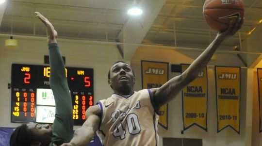The Dukes Need A Strong Performance Out Of A.J. Davis In A Huge Tilt Against Northeastern Tomorrow. (jmusports.com)