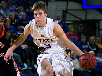 Nate Wolters Owned the Court on Thursday Night (South Dakota State Athletics)