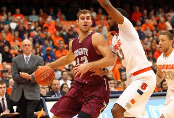 While Colgate May Toil In The Depths Of The Patriot League, Star Forward Murphy Burnatowski Shines.